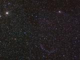 Туманность Вуаль, ТЕЛЕАР (200мм), Canon 300D