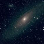 М31 — Туманность Андромеды (вторая проба)