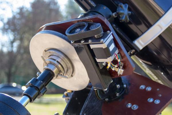 Монтировка MEH-50: Привод и шестерня