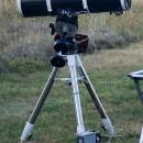 Запуск самодельной экваториальной монтировки MEH-50
