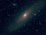 М31, Туманность Андромеды, ЗМ-5А, Canon 300D